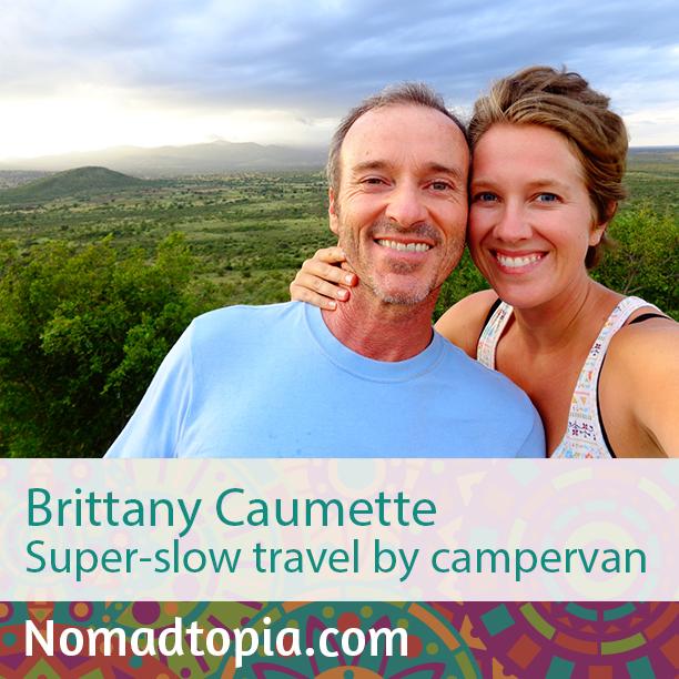Brittany Caumette: Super-slow Travel By Campervan