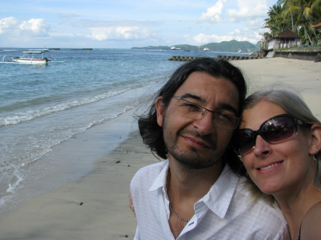 Amy and Roberto