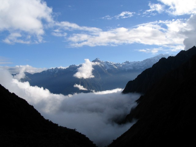 Inca Trail campsite view